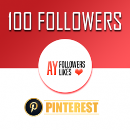 100 Pinterest Followers $1