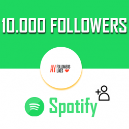 10000 Spotify Followers