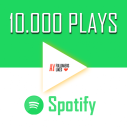 10000 Spotify Plays