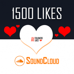 1500 SoundCloud Likes