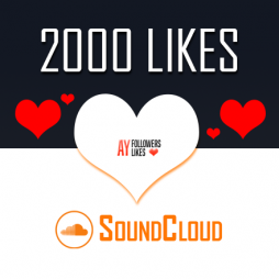 2000 SoundCloud Likes