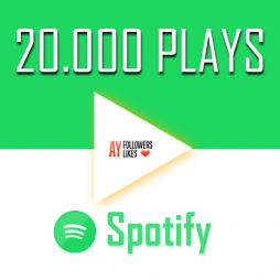 20000 Spotify Plays