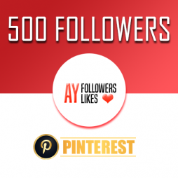 Buy 500 Pinterest Followers