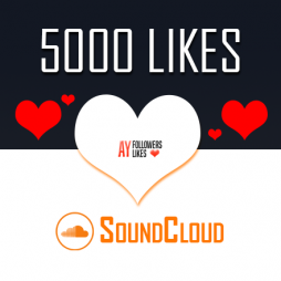 5000 SoundCloud Likes