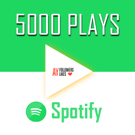 5000 Spotify Plays