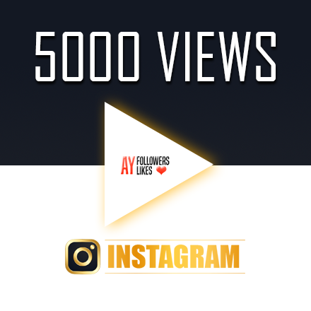 5000 instagram video views