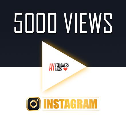 5000 instagram video views