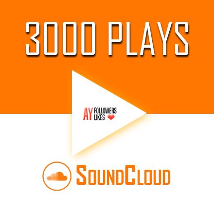 Buy 3000 SoundCloud Plays $2