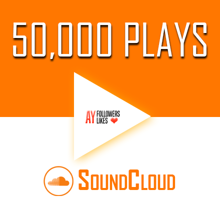 Buy 50.000 SoundCloud Plays $1