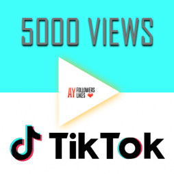 Tiktok views $1
