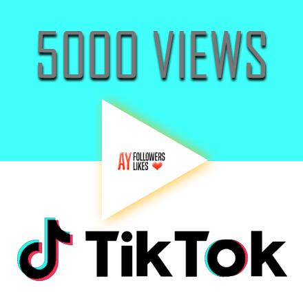 Tiktok views $1
