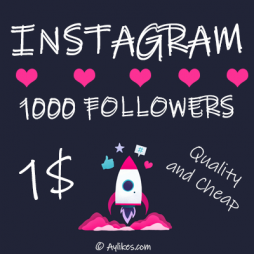 Instagram Followers $1