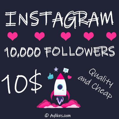 Instagram Followers $10
